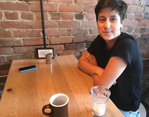 Filmmaker Kathleen Hepburn